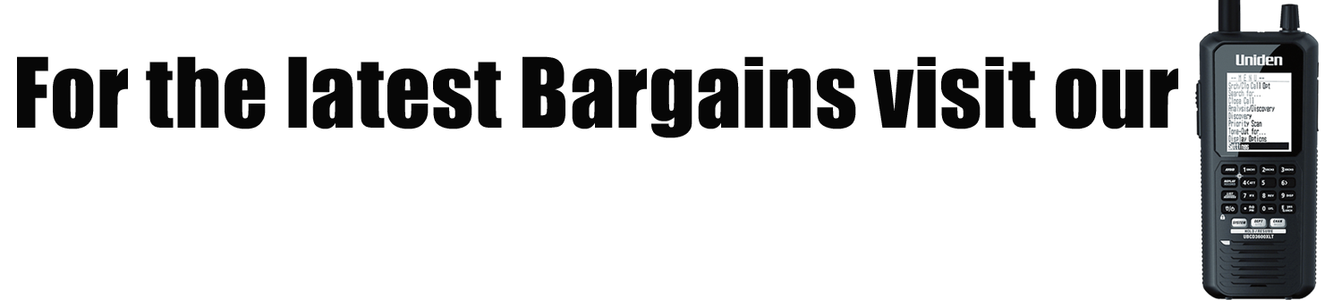 For the latest bargains visit our Used and Clearance Section