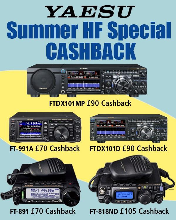 Yaesu Summer HF Special Cashback