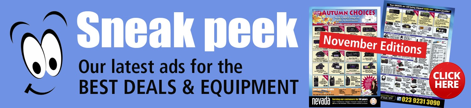 Sneek peek - For the lastest ads for the best deals and equipment please click here.