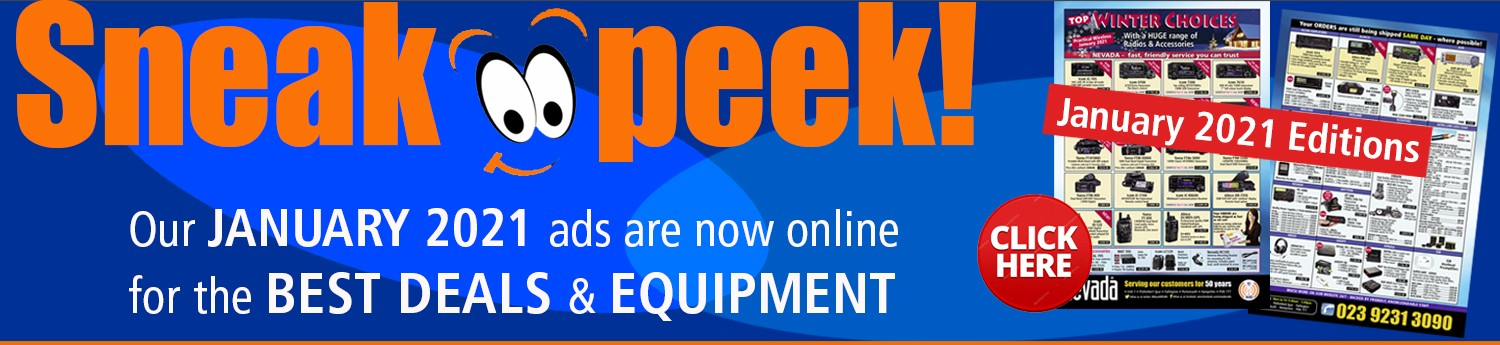 Sneak Peek Our January 2021 ads are now online for the best deals and equipment