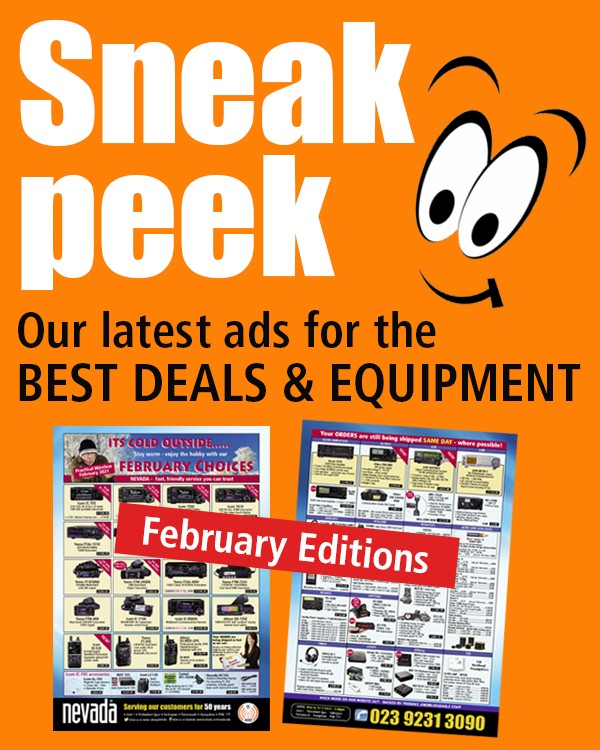 Sneak Peak, our latest ads for best deals and equipment