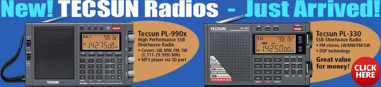 New Tecsun Radios