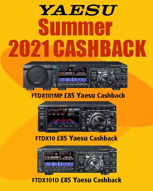 Yaesu Summer 2021 cashback