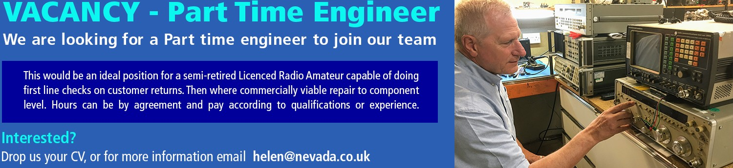 Vacancy for part time engineer